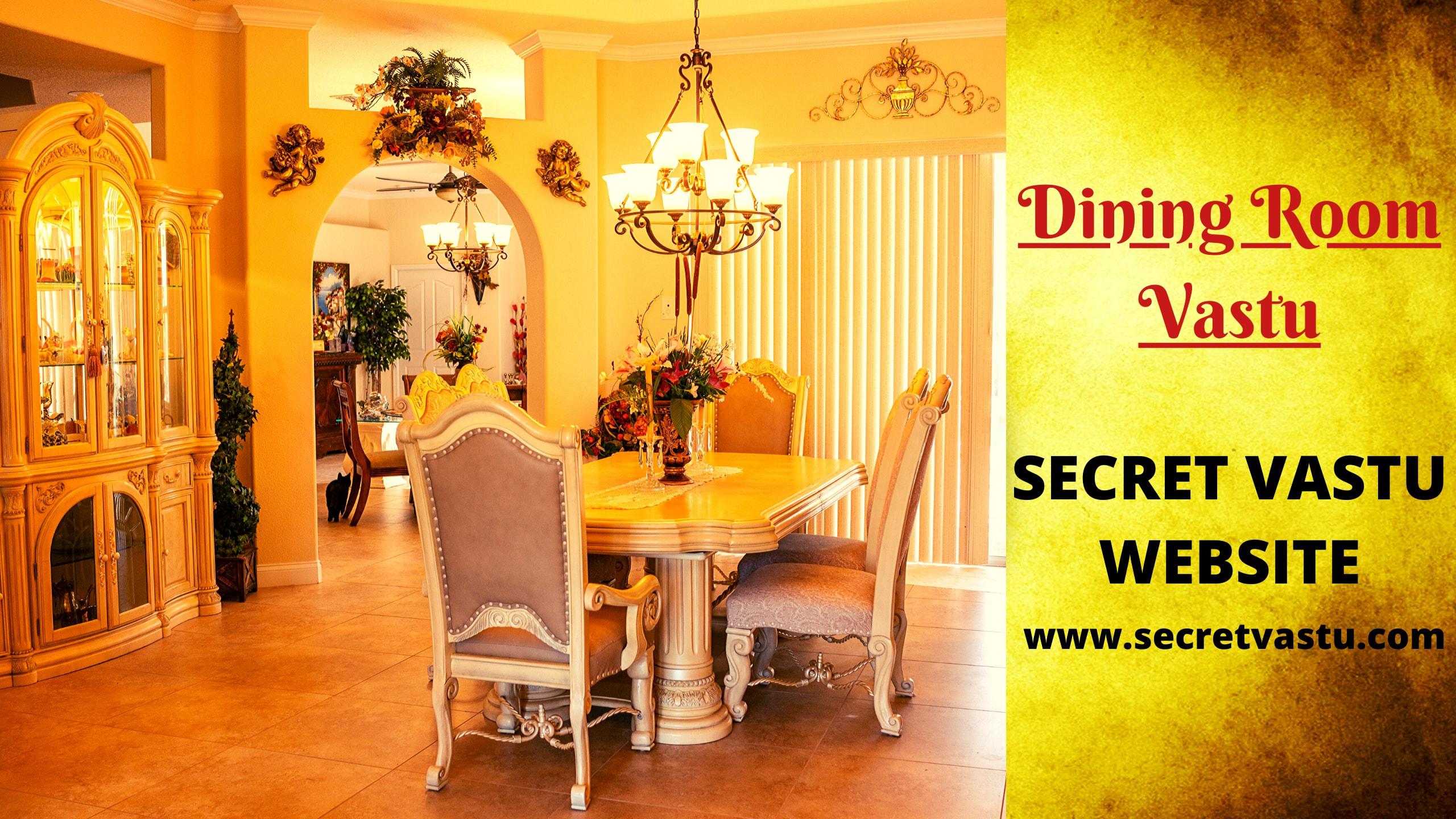dining room vastu
